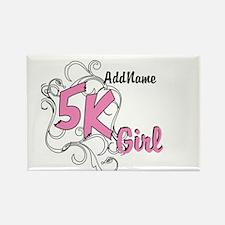 Customize 5k Girl Magnets