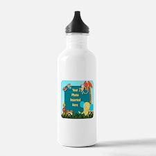 Jungle Cutouts Water Bottle