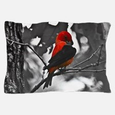 Scarlet Tanager Pillow Case