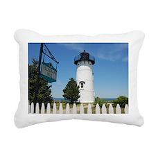 East Chop Light, Martha' Rectangular Canvas Pillow