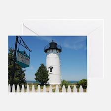 East Chop Light, Martha's Vineyard Greeting Card