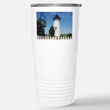 East Chop Light, Martha Stainless Steel Travel Mug