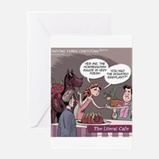 Literal Cafe Greeting Cards