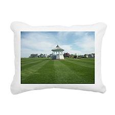 Ocean Park Bandstand, MV Rectangular Canvas Pillow