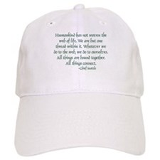 Web of Life Baseball Cap