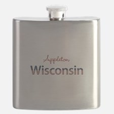 Custom Wisconsin Flask