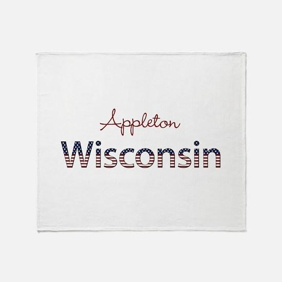 Custom Wisconsin Throw Blanket