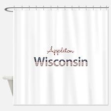 Custom Wisconsin Shower Curtain