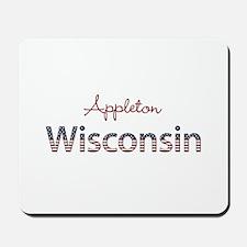Custom Wisconsin Mousepad