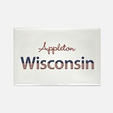 Custom Wisconsin Rectangle Magnet