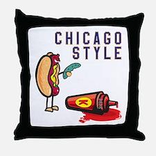 Chicago Style Throw Pillow