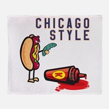 Chicago Style Throw Blanket