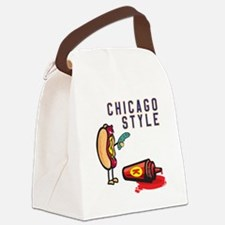Chicago Style Canvas Lunch Bag