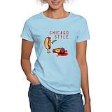 Chicago style hot dog Women's Light T-Shirt