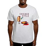 Chicago Mens Light T-shirts