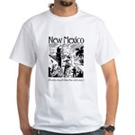 Vintage NEW MEXICO White T-Shirt