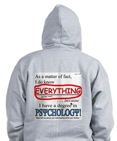 Psychology Degree Zip Hoodie