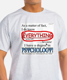 Psychology Degree T-Shirt