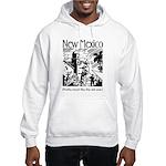 Vintage NEW MEXICO Hooded Sweatshirt