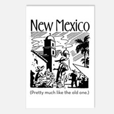 Vintage NEW MEXICO Postcards (Package of 8)