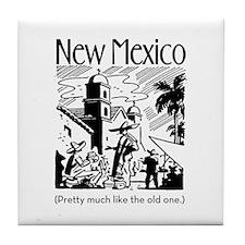 Vintage NEW MEXICO Tile Coaster