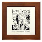 Vintage NEW MEXICO Framed Tile