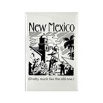 Vintage NEW MEXICO Rectangle Magnet (100 pack)