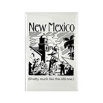 Vintage NEW MEXICO Rectangle Magnet