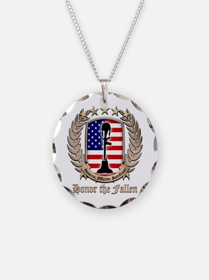 Honor the Fallen – Crest Necklace