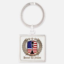 Honor the Fallen – Crest Keychains