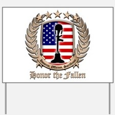Honor the Fallen – Crest Yard Sign