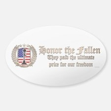 Honor the Fallen – Crest Decal