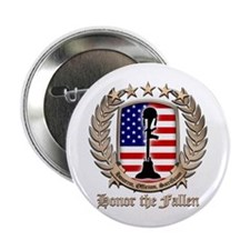 "Honor the Fallen – Crest 2.25"" Button (100 pack)"