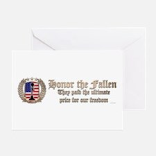 Honor the Fallen – Crest Greeting Cards