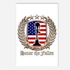 Honor the Fallen – Crest Postcards (Package of 8)
