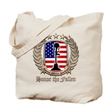 Honor the Fallen – Crest Tote Bag