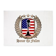 Honor the Fallen – Crest 5'x7'Area Rug