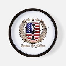 Honor the Fallen – Crest Wall Clock