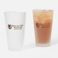 Honor the Fallen – Crest Drinking Glass