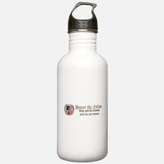 Honor the Fallen – Crest Water Bottle