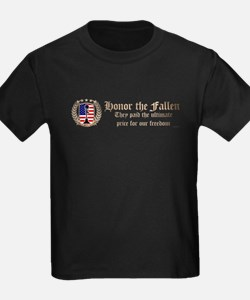 Honor the Fallen – Crest T-Shirt