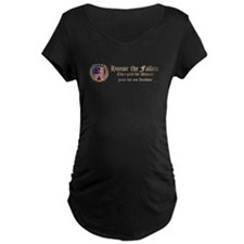 Honor the Fallen – Crest Maternity T-Shirt
