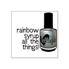 Rainbow Syrup Sticker