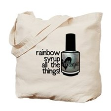 Rainbow Syrup Tote Bag