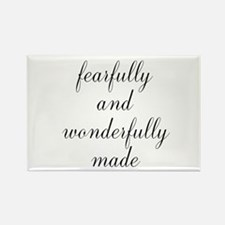 Fearfully and Wonderfully Made Script Magnets