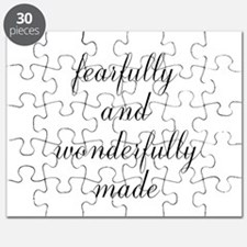 Fearfully and Wonderfully Made Script Puzzle