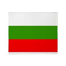 Bulgaria Flag Throw Blanket