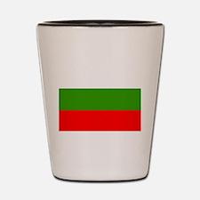 Bulgaria Flag Shot Glass