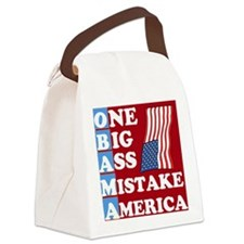 OBAMA - One Big Ass Mistake Canvas Lunch Bag