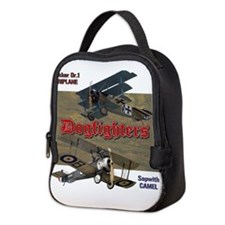 Dogfighters: Triplane vs Camel Neoprene Lunch Bag